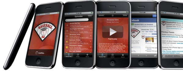 Baseball PhD iPhone app