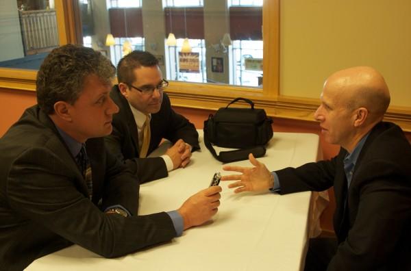 Ed & Farley interviewing Jonathan Eig