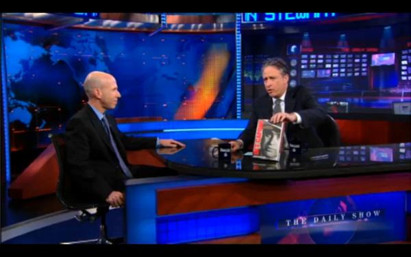 Jonathan Eig with Jon Stewart