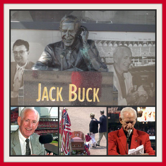 Jack Buck collage