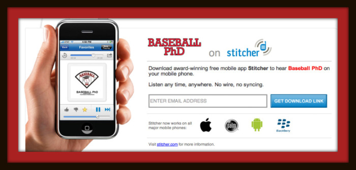 Baseball PhD is now on stitcher