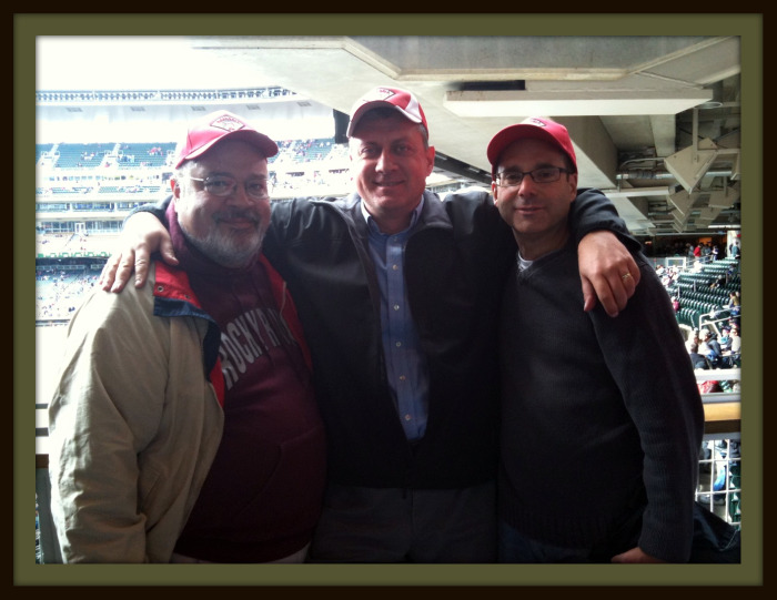 Mark, Ed & Farley - Target Field, September 18, 2010